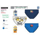 Minions - kit of 3 briefs 100% coton