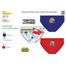 Super Wings - Set aus 3 Slips 100% Baumwolle