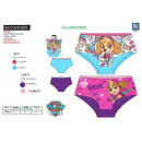 PAW PATROL - shorty imprime 95% cotton / 5% elasth