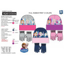 frozen - Set 2 Stück Hut und Handschuhe Multi