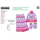 frozen - conjunto 3 piezas bufanda y guantes y tap