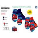 wholesale Fashion & Apparel: Spiderman - ski gloves 100% polyester