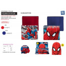 wholesale Scarves, Hats & Gloves: Spiderman - reversible collar 100% polyester