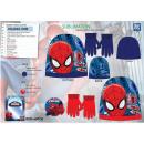 SPIDERMAN - set 2 pièces bonnet & gants 100% p