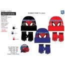 SPIDERMAN - set 2 pièces bonnet & gants multi