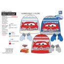 grossiste Articles sous Licence: CARS - set 2 pièces bonnet & gants 100%