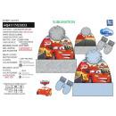 CARS - set 2 pièces bonnet & gants 100% p