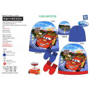 wholesale Licensed Products: Cars - set 2 pieces hat & gloves 100% p