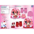 Minnie - tweedelige set motorkap & handschoene