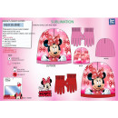 Minnie - 2-teiliges Set Motorhaube & Handschuh