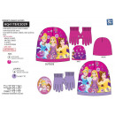 Princess - set 2 pieces hat & gloves 100% p