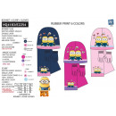Minions - 3-piece set scarf & gloves & hat