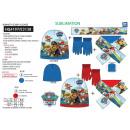Großhandel Schals, Mützen & Handschuhe: Paw Patrol - Set 3 Stück Schal und Handschuhe &amp