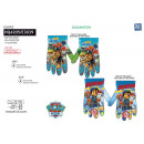 wholesale Licensed Products: Paw Patrol - gloves 99% polyester / 1% ...
