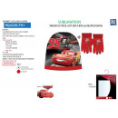 Cars - set 2 pieces hat & gloves 100% p