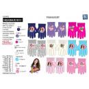 wholesale Fashion & Apparel: Soy Luna - multi composition gloves