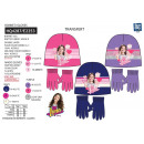 Soy Luna - set 2 pieces hat & gloves multi