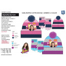 wholesale Licensed Products: Soy Luna - set 2 pieces hat & gloves 97% ac