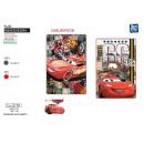 Großhandel Kissen & Decken: Cars - Polarplaid  100x150cm 100% Polyester