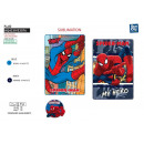 SPIDERMAN - plaid 100x150cm polaire 100% polyester