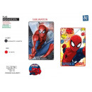 Spiderman - polar plaid 100x150cm 100% polyester
