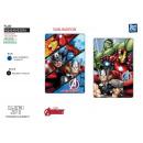 Großhandel Lizenzartikel: Avengers CLASSIC - Polarplaid 100x150cm 100% Zoll