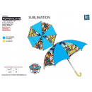 wholesale Licensed Products: Paw Patrol - umbrella d: 69 100% polyester