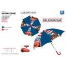 Cars - paraplu d: 65 uur: 55 100% polyester