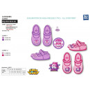 wholesale Shoes: Super Wings - 100% coton velcro slippers