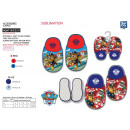 wholesale Shoes: Paw Patrol - 100% polyester slippers