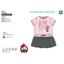 Minnie - short sleeve dress 80% polyester / 20%