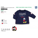 mayorista Artículos con licencia: Mickey - T-Shirt manga larga 100% algodón
