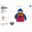 grossiste Pulls et Sweats: SUPERMAN - cardigan 100% polyester