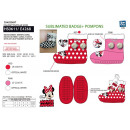 Minnie - 100% polyester slippers