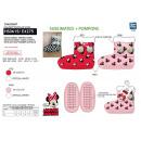 Minnie - Elastische Hausschuhe aus 100% Polyester