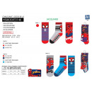wholesale Socks and tights: Spiderman - pack 3 socks 70% cotton 18% poly