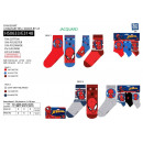 SPIDERMAN - pack 3 chaussettes 70% cotton 18% poly