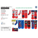 Spiderman - pack 2 socks 70% cotton 18% poly