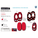 Spiderman - 100% polyester slippers