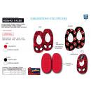 Spiderman - Hausschuhe elastisch 100% Polyester