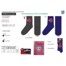 Spiderman - socks 99% polyester / 1% elastha