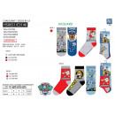 Paw Patrol - pack 3 socks 70% cotton 18% pol
