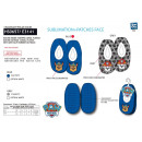 Paw Patrol - 100% polyester slippers
