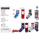 Avengers CLASSIC - Pack 3 Socken 70% Baumwolle 1