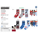 MICKEY - pack 3 chaussettes 70% cotton 18% polyest