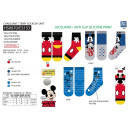 MICKEY - chaussettes terry antiderapant