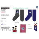 wholesale Licensed Products: Mickey - socks 99% polyester / 1% elastane