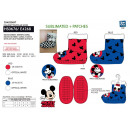 MICKEY - chaussons elastique 100% polyester