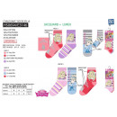 wholesale Socks and tights: Princess - pack 3 socks 70% cotton 18% poly