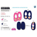 Princess - 100% polyester slippers